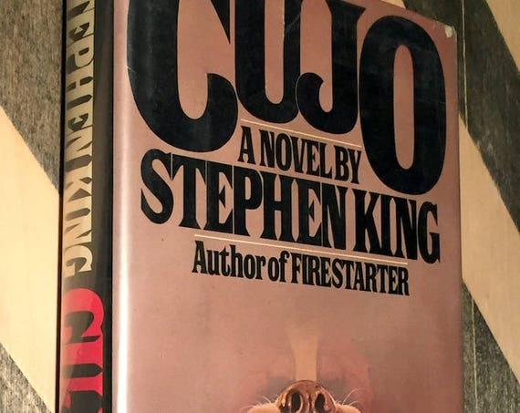 Cujo by Stephen King (1981) hardcover book