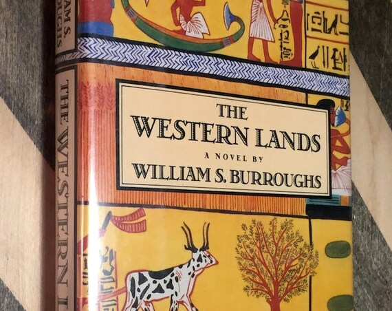 Western Lands by William S. Burroughs (1987) first edition book