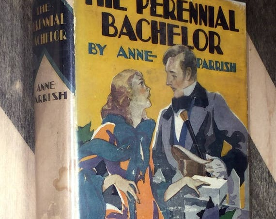 The Perennial Bachelor by Anne Parrish (1925) hardcover book