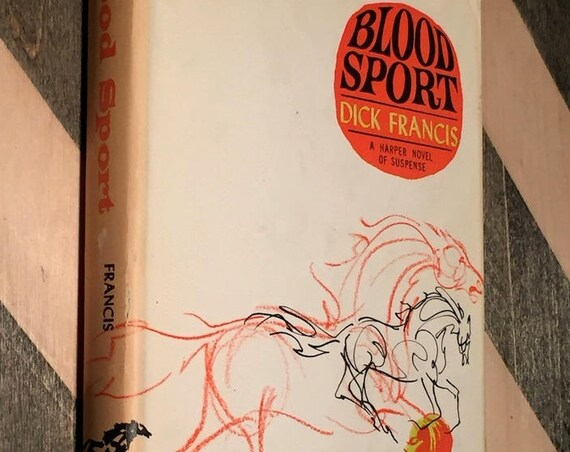 Blood Sport by Dick Francis (1967) hardcover book