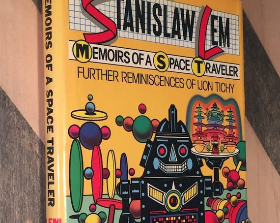 Memoirs of a Space Traveler by Stanislaw Lem (1982) first edition book