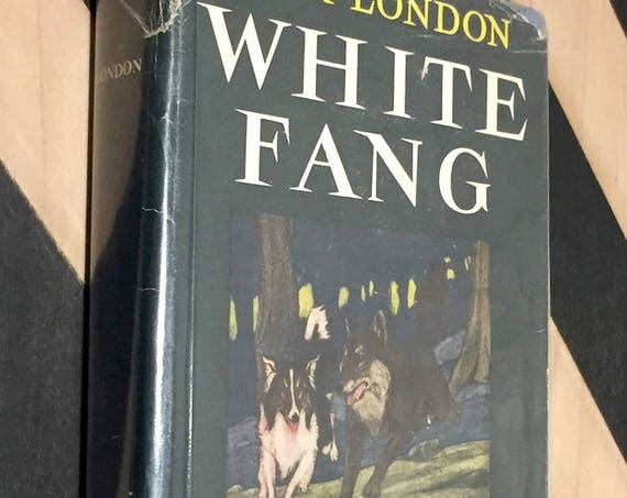White Fang by Jack London (1933) hardcover book