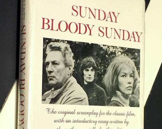 Sunday Bloody Sunday by Penelope Gilliatt (1986) first edition book