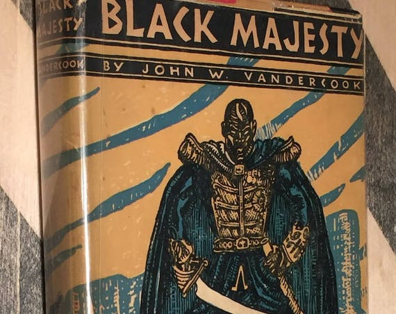 Black Majesty by John W. Vandercook (hardcover book)