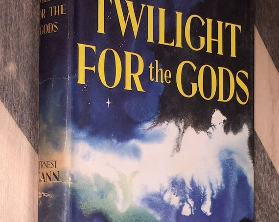 Twilight for the Gods by Ernest K. Gann (1956) hardcover book