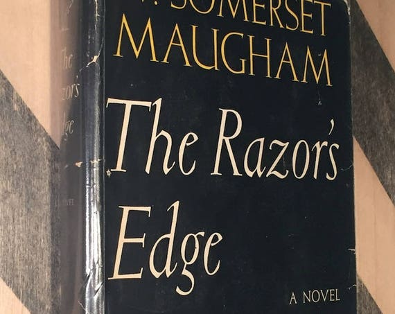 The Razor's Edge by W. Somerset Maugham (1944) hardcover book