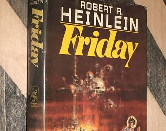 Friday by Robert Heinlein (hardcover book)