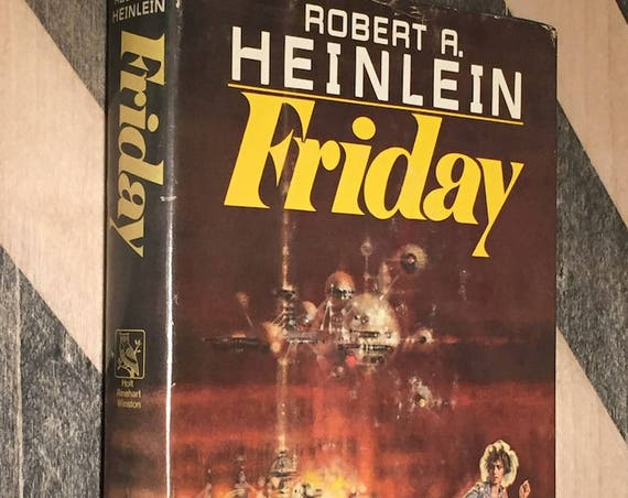 Friday by Robert Heinlein (hardcover book)