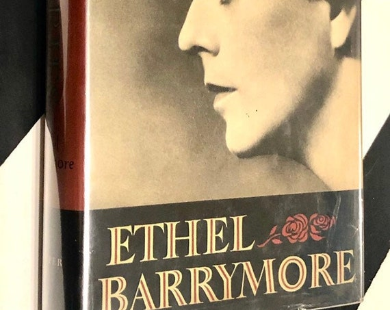 Memories: An Autobiography by Ethel Barrymore (1955) hardcover first edition book