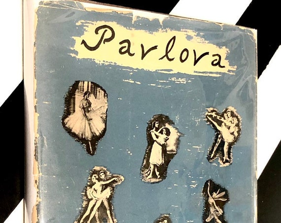 Pavlova: An Illustrated Monograph edited by Paul Magriel (1947) hardcover book