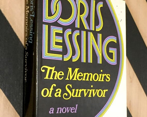 Memoirs of a Survivor by Doris Lessing (1974) first edition book