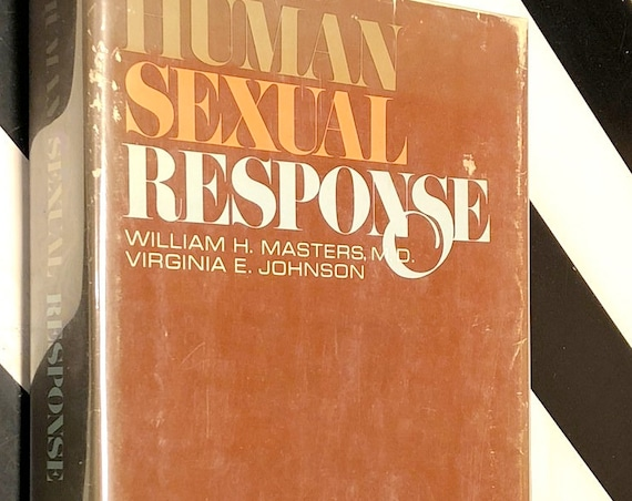 Human Sexual Response by Masters and Johnson (1966) hardcover book