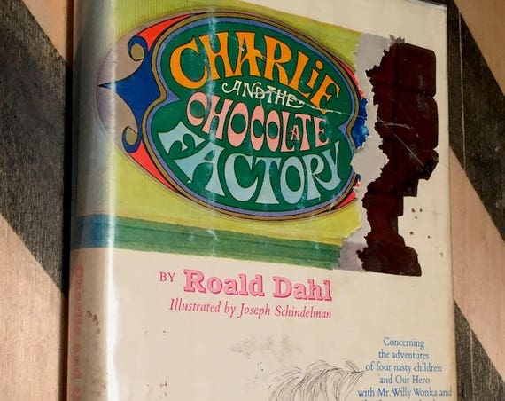 Charlie and the Chocolate Factory by Roald Dahl (1964) first edition book