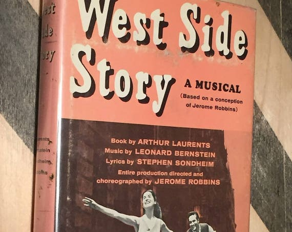 West Side Story, A Musical  (hardcover book)