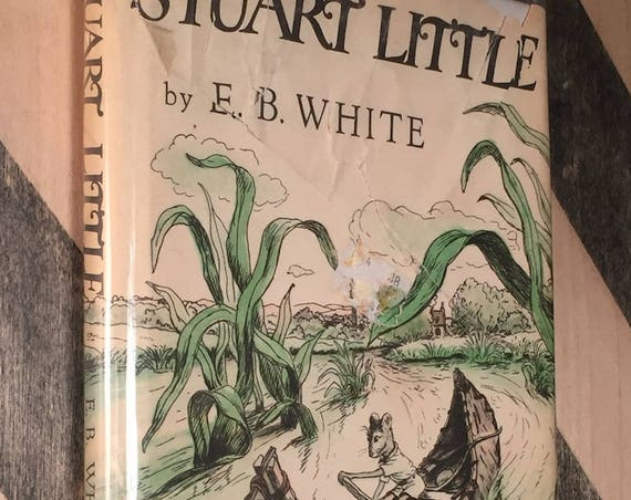 Stuart Little by E. B. White (1973) hardcover book