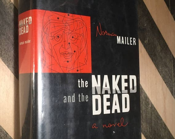 The Naked and the Dead by Norman Mailer (hardcover book)