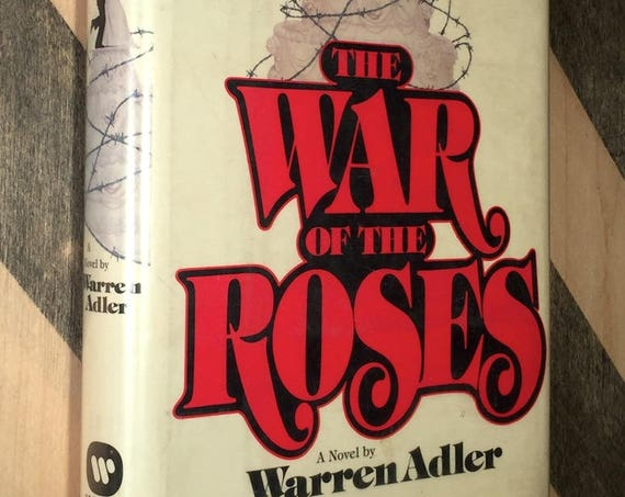 War of the Roses by Warren Adler (1981) first edition book