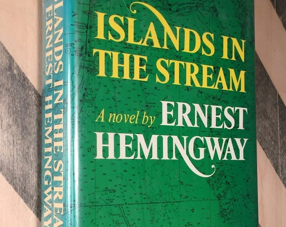 Islands in the Stream by Ernest Hemingway (1970) hardcover book