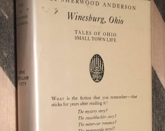 Winesburg, Ohio by Sherwood Anderson (hardcover book)