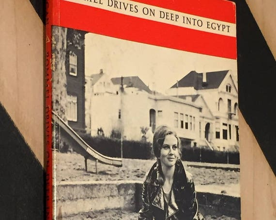 Rommel Drives On Deep into Egypt by Richard Brautigan (1970) trade paperback book