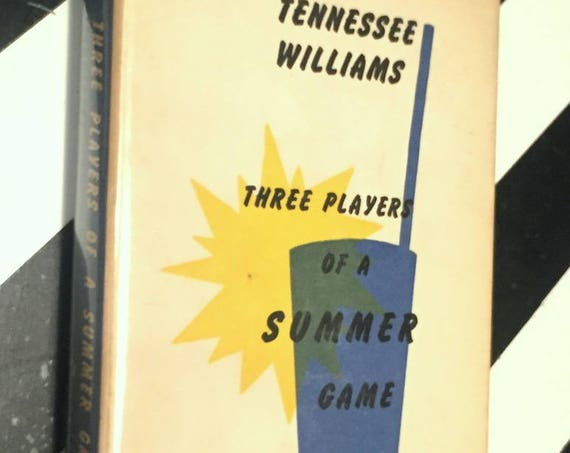 Three Players of a Summer Game and Other Stories by Tennessee Williams (1960) first edition book