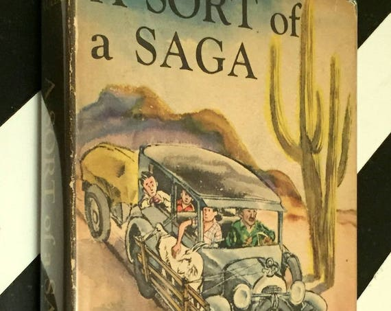 A Sort of Saga by Bill Mauldin (1949) first edition book