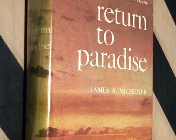 Return to Paradise by James Michener (1951) hardcover book