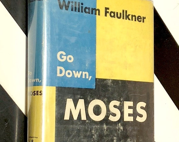 Go Down Moses by William Faulkner (1942) Modern Library hardcover book