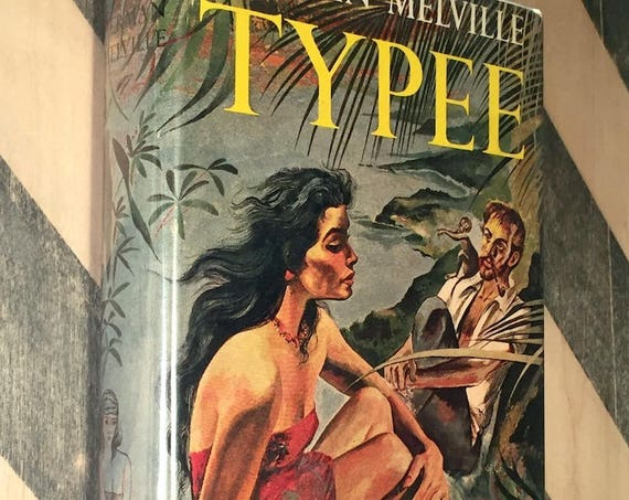 Typee by Herman Melville (hardcover book)