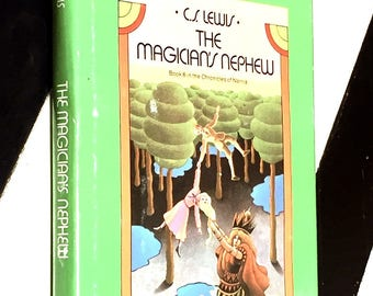 The Magician's Nephew by C. S. Lewis (1955) hardcover book