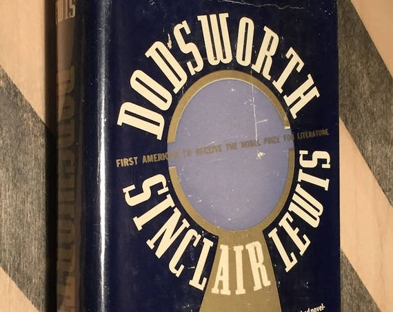 Dodsworth by Sinclair Lewis (1929) hardcover book