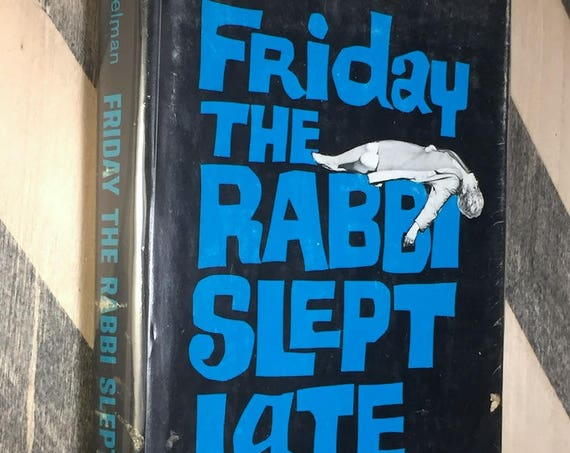 Friday the Rabbi Slept Late by Harry Kemelman (1964) hardcover book