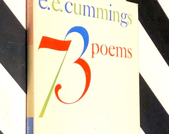 73 Poems by e. e. cummings (1963) hardcover book