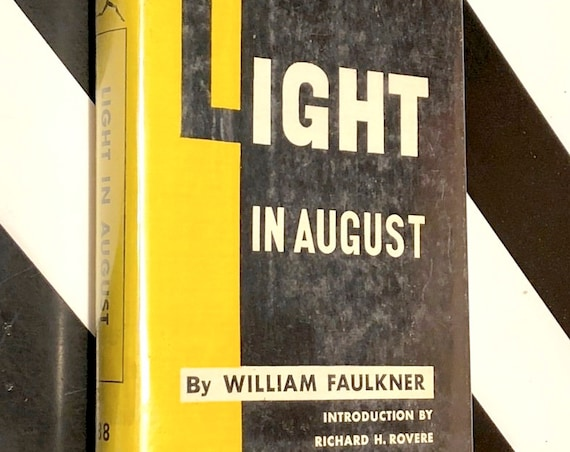Light in August by William Faulkner (1950) Modern Library hardcover book