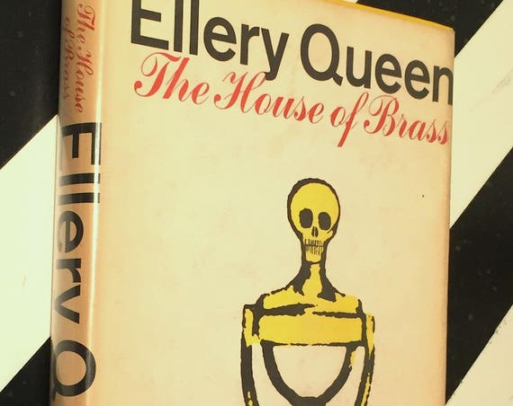 The House of Brass by Ellery Queen (1968) hardcover book