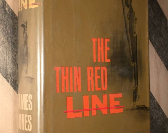 The Thin Red Line by James Jones (1962) hardcover book