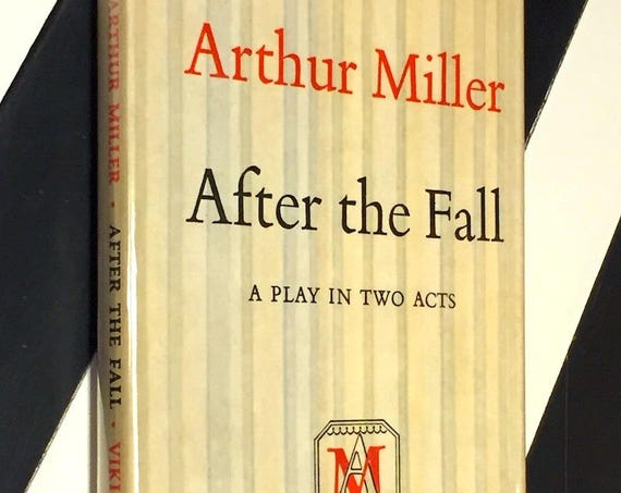 After the Fall by Arthur Miller (1964) first edition book