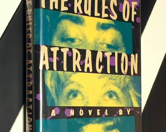 The Rules of Attraction by Bret Easton Ellis (1987) first edition book