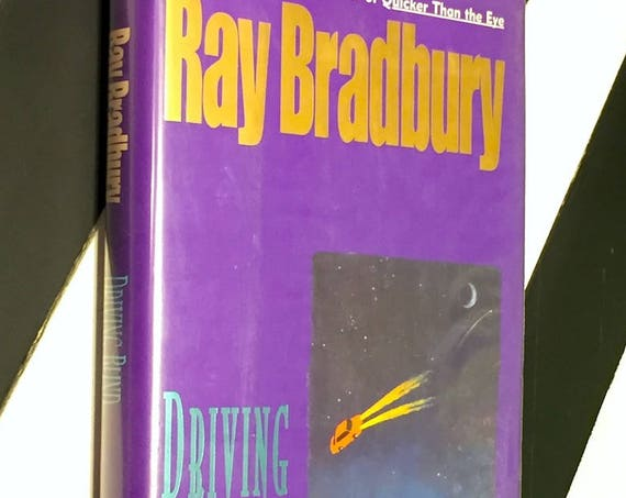 Driving Blind by Ray Bradbury (1997) first edition book
