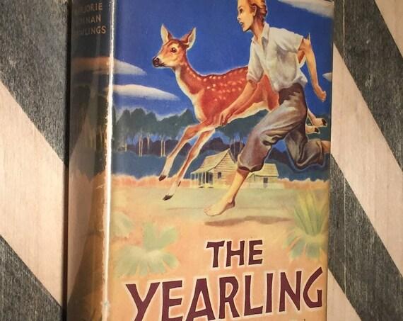 The Yearling by Marjorie Kinnan Rawlings  (hardcover book)