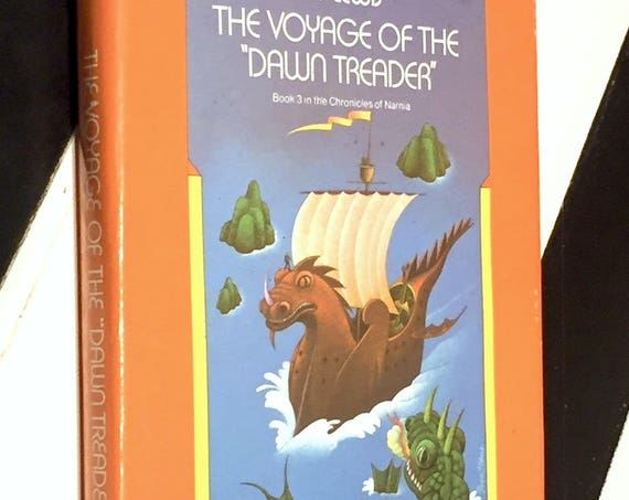 The Voyage of the Dawn Treader by C. S. Lewis (1952) hardcover book