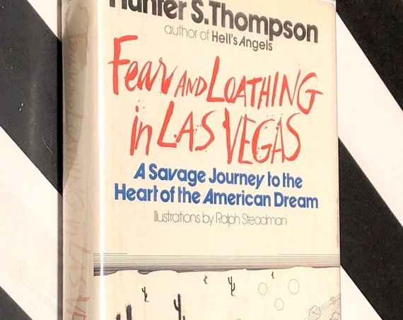 Fear and Loathing in Las Vegas by Hunter S. Thompson (1971) first edition book