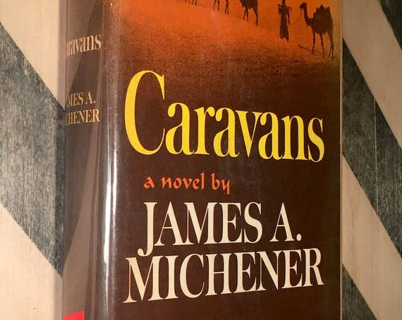 Caravans by James Michener (1963) first edition book