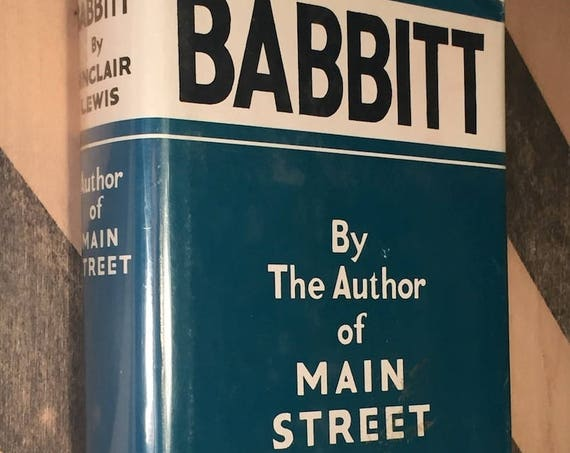 Babbitt by Sinclair Lewis (1922) hardcover book