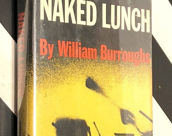 Naked Lunch by William Burroughs (1959) first trade edition book
