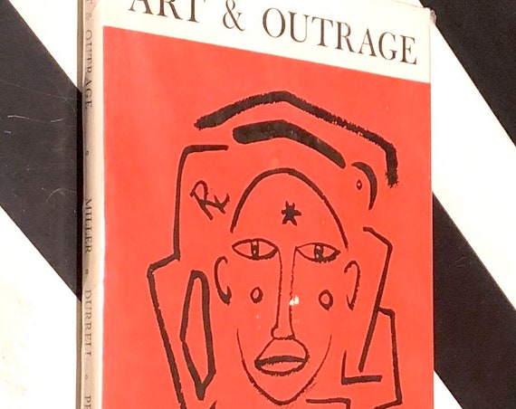 Art & Outrage by Henry Miller, Lawrence Durrell and Alfred Perles (1959) first edition book