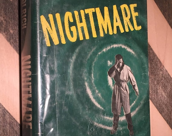 Nightmare by Cornell Woolrich (1956) hardcover book