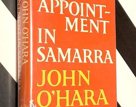 Appointment in Samarra by John O' Hara (1953) Modern Library hardcover book
