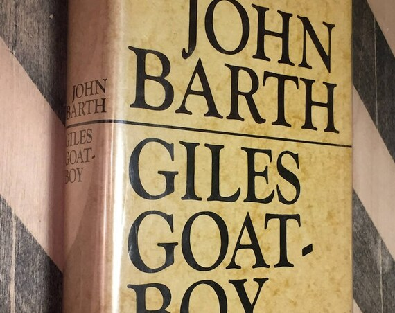 Giles Goat-Boy by John Barth (1966) hardcover book