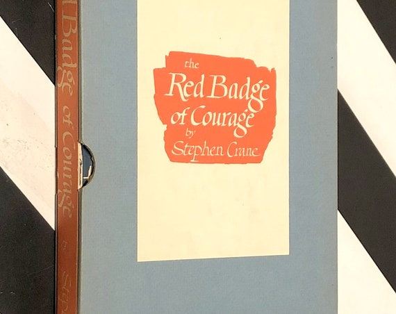 The Red Badge of Courage by Stephen Crane (hardcover book)